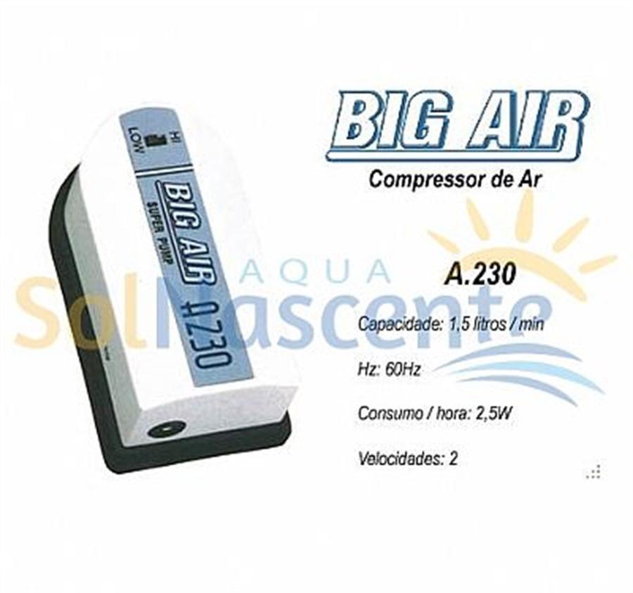 Big Air A230- 2 Velocidades/ 1 Saida