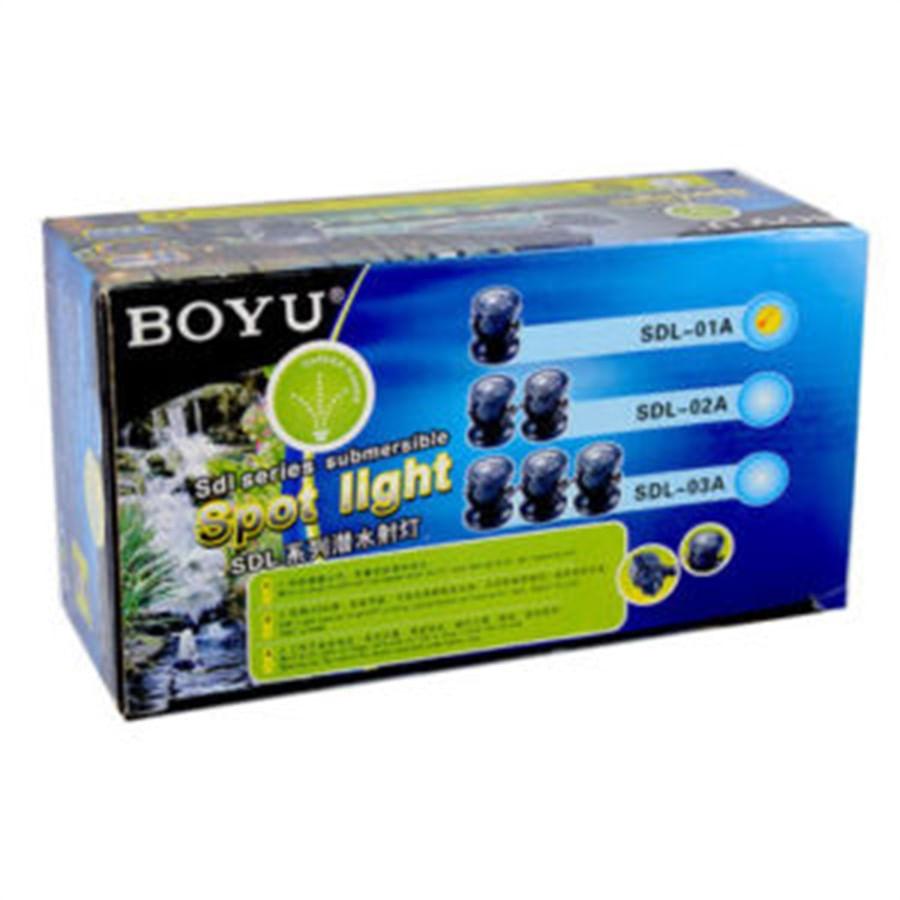 Boyu Iluminação LED Submersa para Lago 1.5W- Modelo SDL-01A - 220V