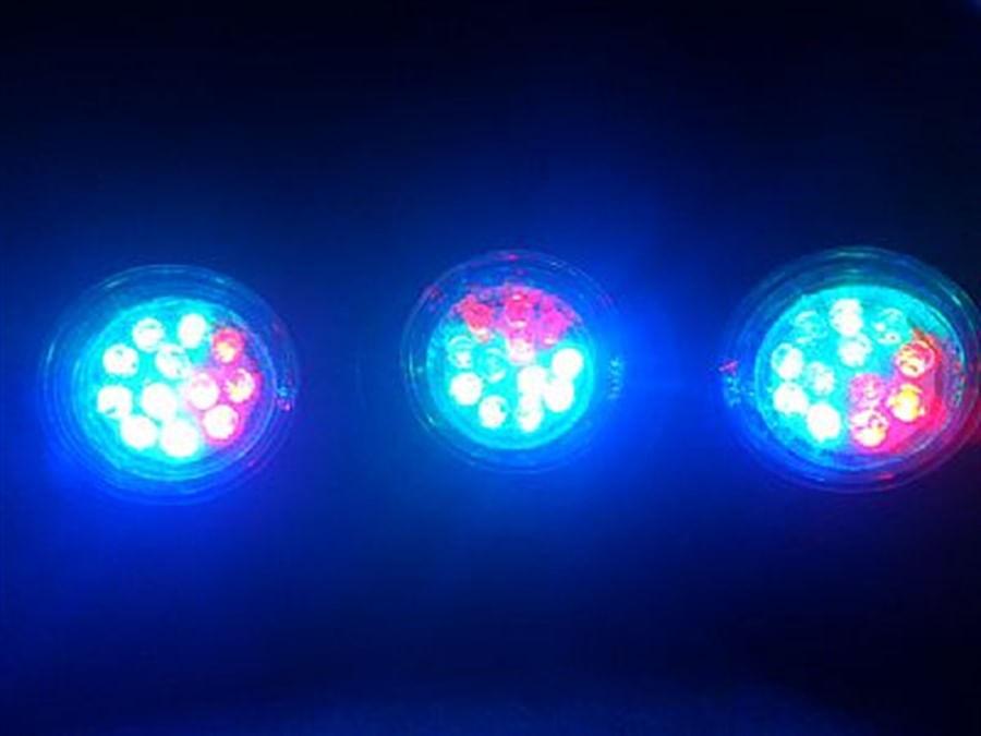 Boyu Iluminação LED Submersa para Lago 4.5W(3 LUMINÁRIAS EM 1 CONJUNTO)- Modelo SDL-03A - 220V