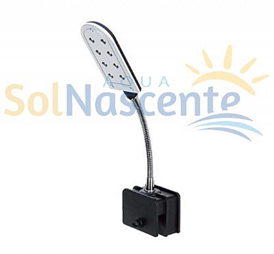Boyu Luminária de LED CL-2L2 0,8w 8 LEDS de Alta Potência - 220V