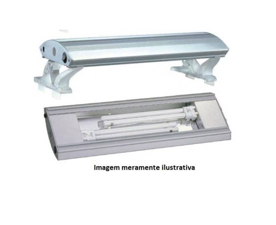 Boyu Luminária Fluorescente PLB-100 100cm PL 2x55w - 220V