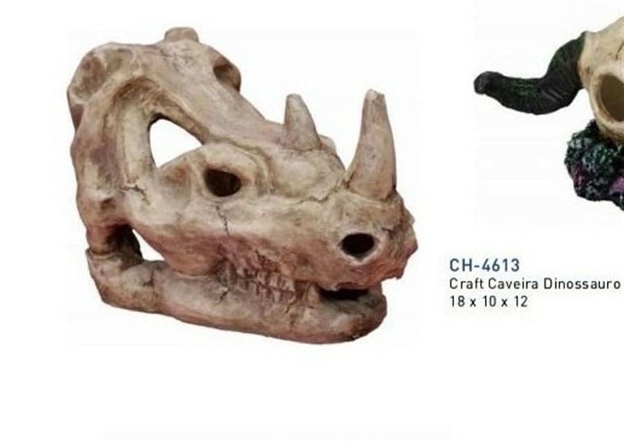 craft work cabeça de dinossauro ch-4613
