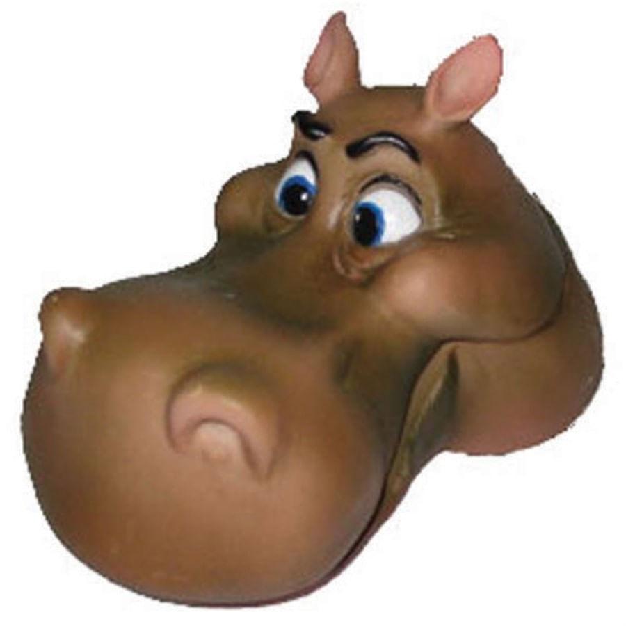craft work cabeça de hipopotamo movel