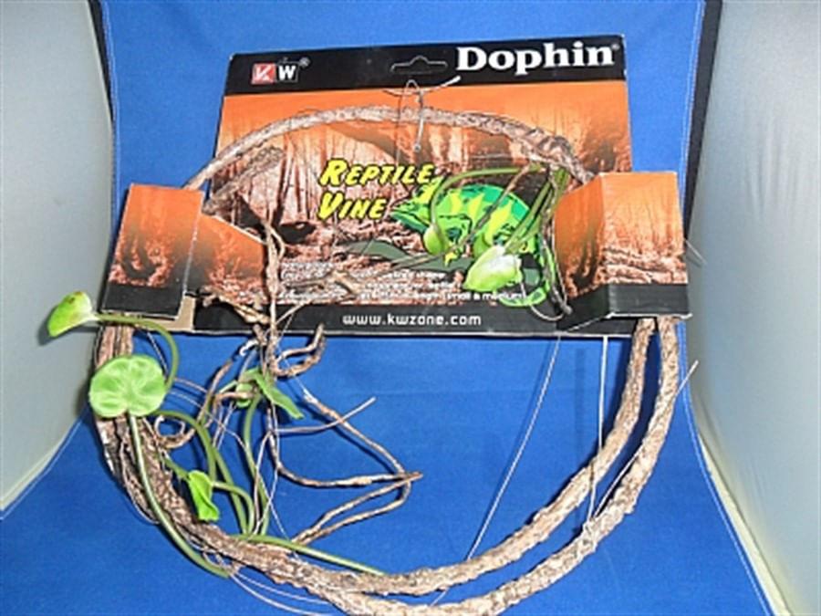 Dophin ramo de plástico para Reptil 1,5m small