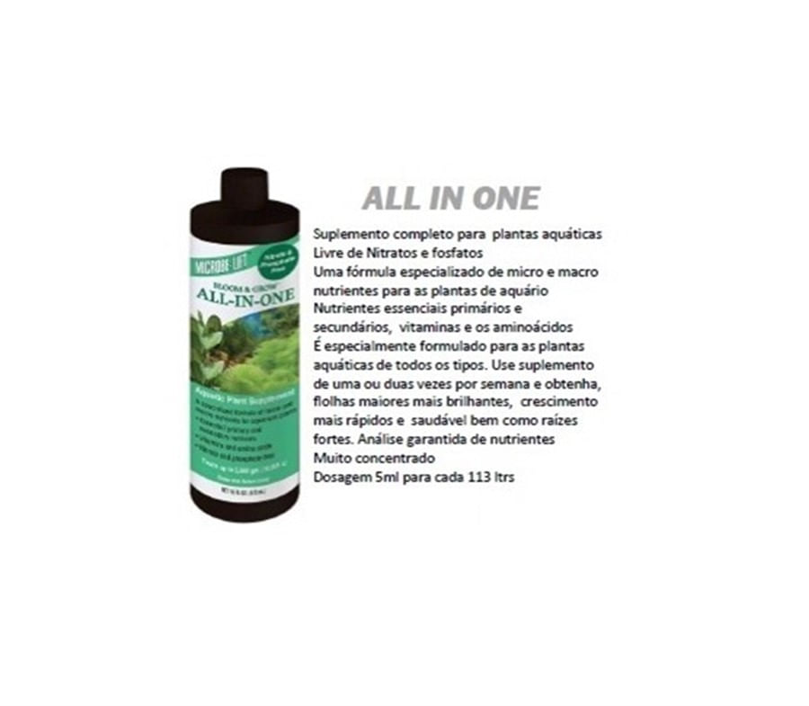 Ecological  Microbe Lift All in one 118ml (plantado)