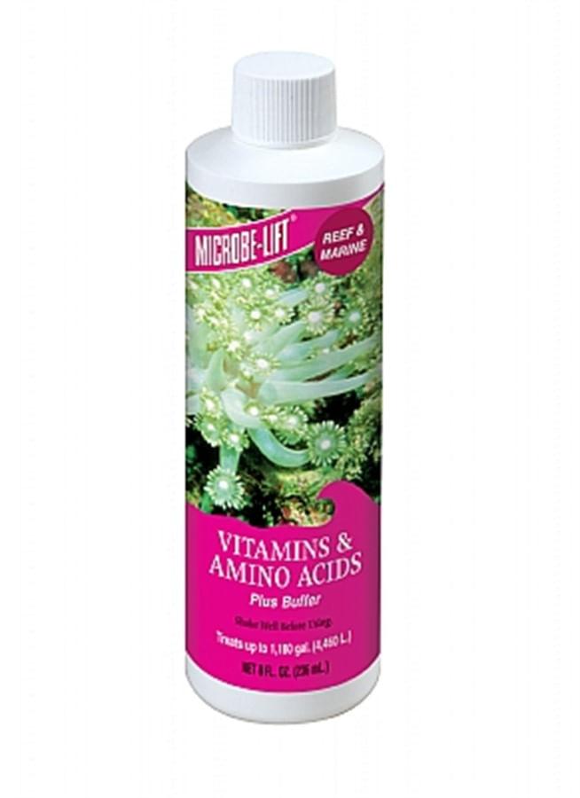 Ecological Microbe Lift Saltwater Vitamins & Amino Acids 236ml