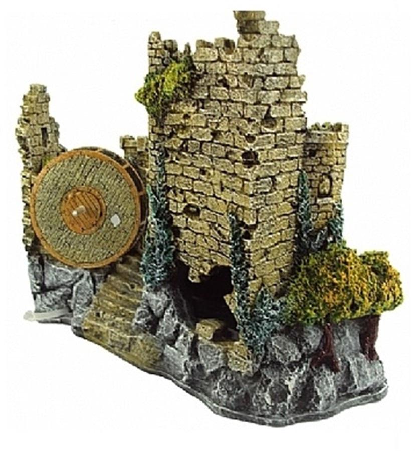Enfeite de Resina Castelo Medieval I (E-11)