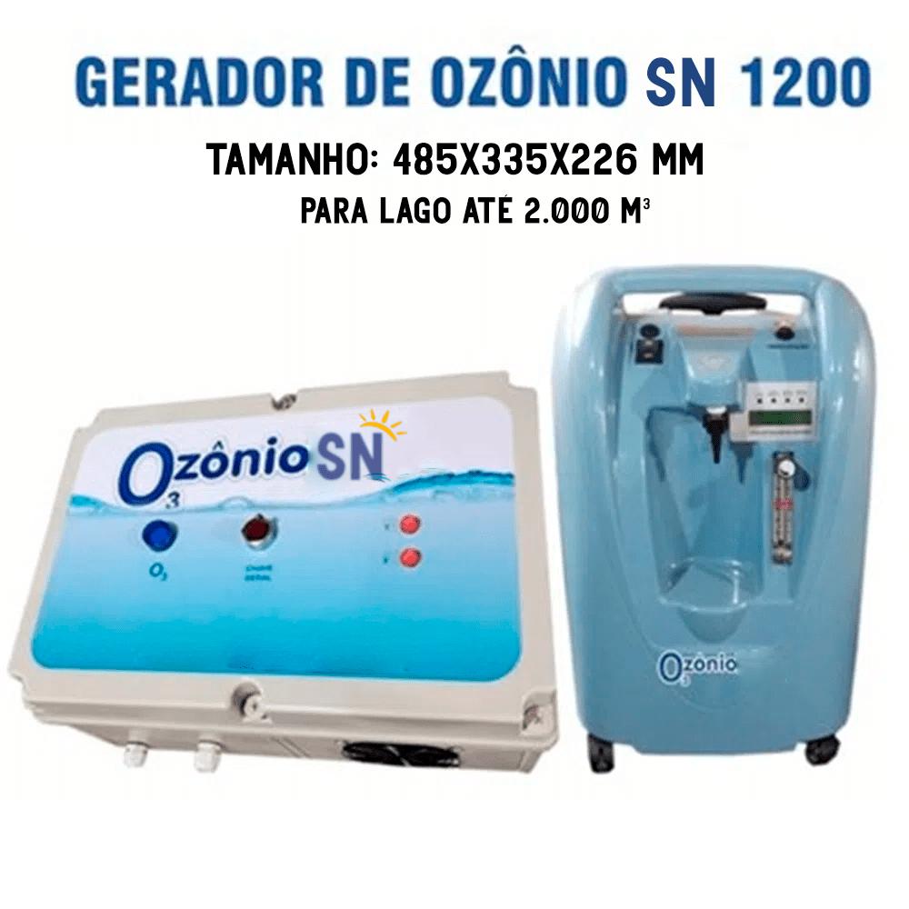 Gerador de Ozônio SN-1200