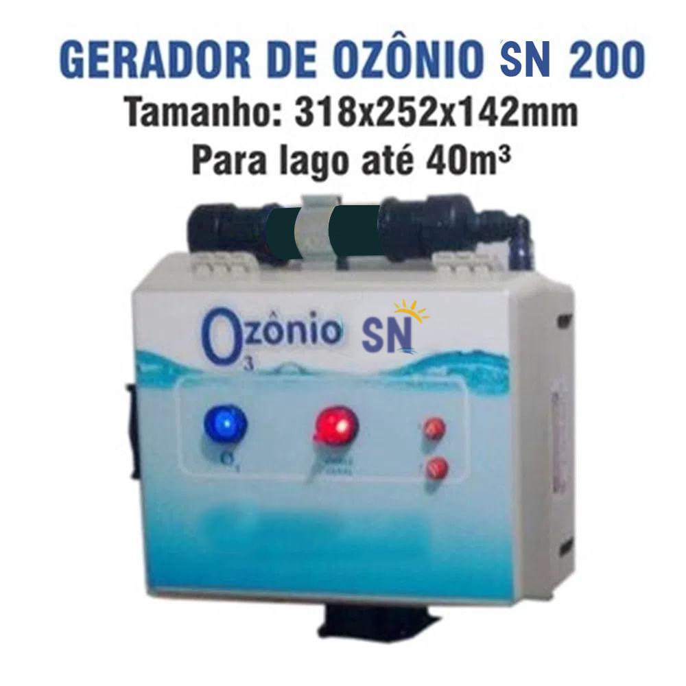 Gerador de Ozônio SN-200