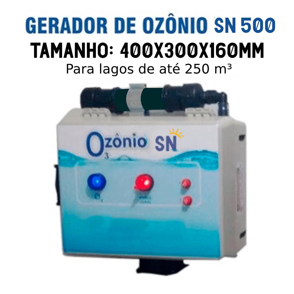 Gerador de Ozônio SN-500