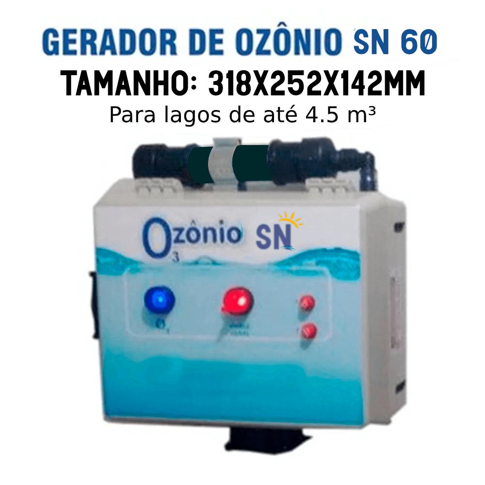 Gerador de Ozônio SN-60