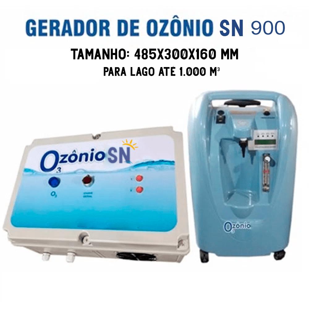 Gerador de Ozônio SN-900