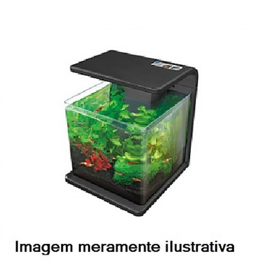 Hailea Aquarium Natur Biotop E-15 - Preto 110V