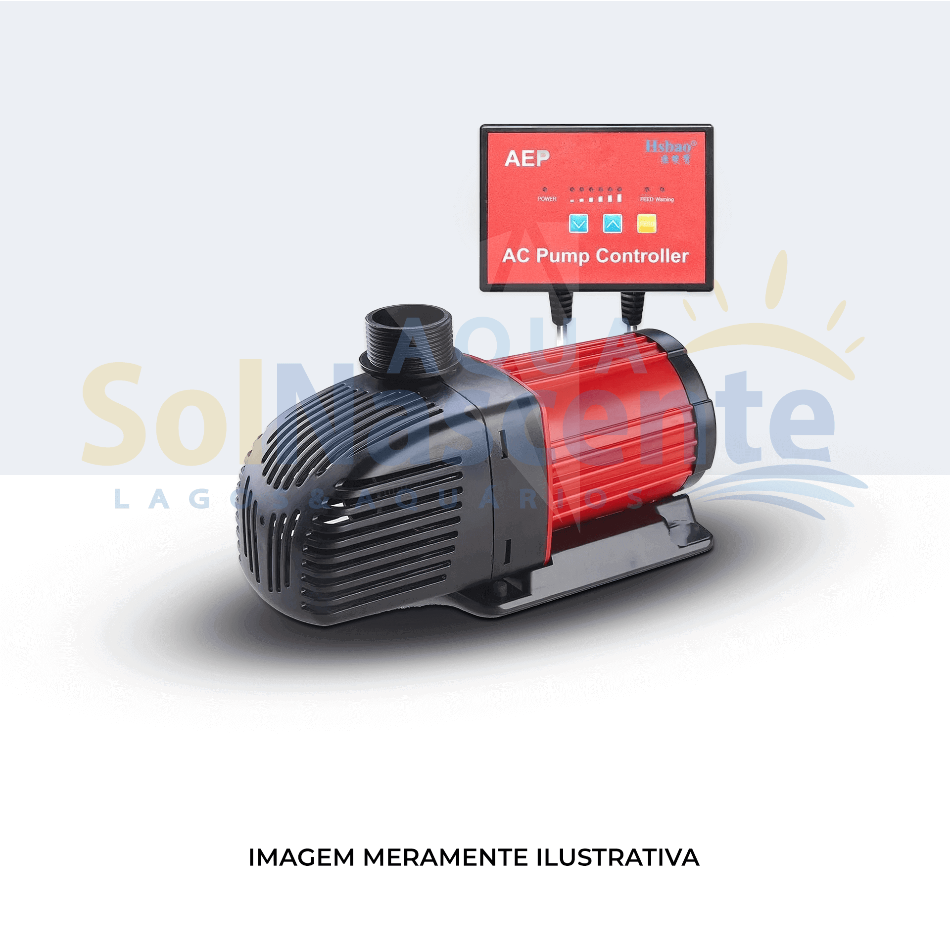 HSBAO Bomba Submersa Eletrônica AEP-4000