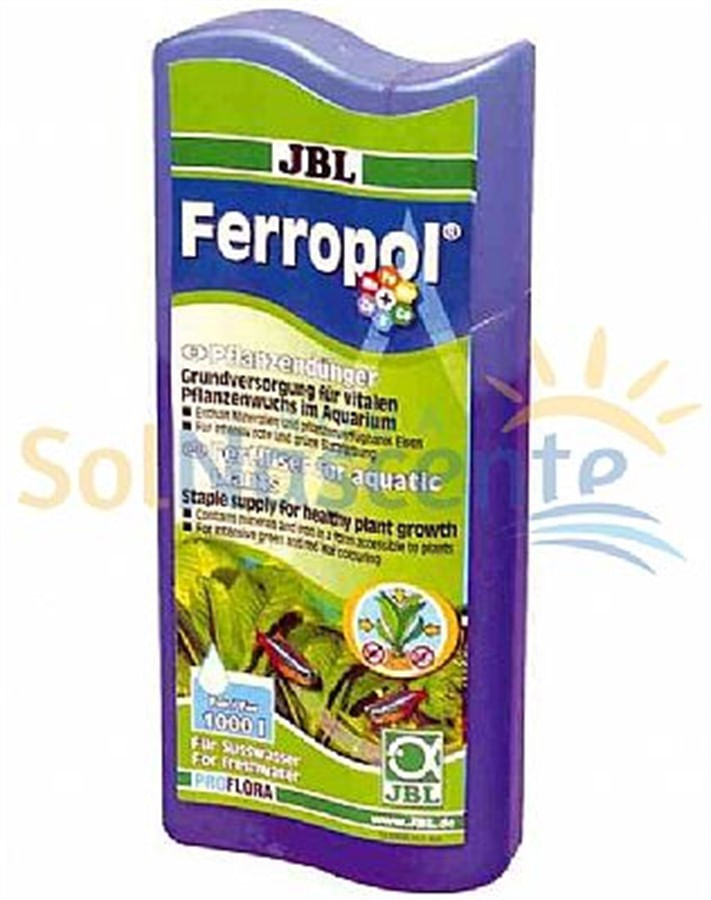 JBL Fertilizante Ferropol 250ml (Trata 1000 litros)