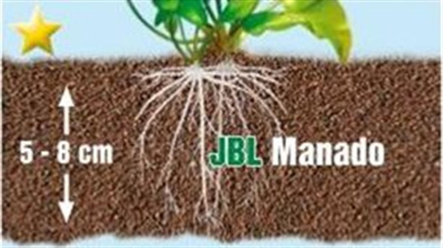 JBL Manado 3L. Substrato p/ Plantado 25L