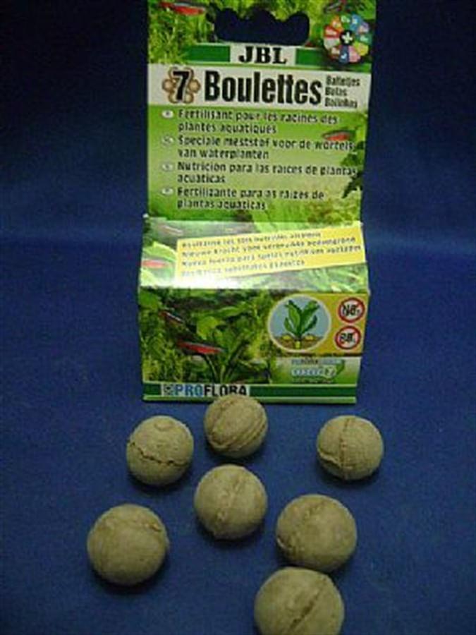 JBL ProFlora 7 Bolas (Refertilizante de Substratos p/ Aquário Plantado)