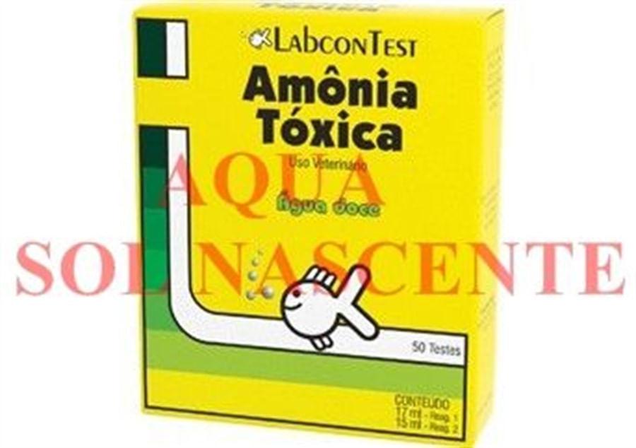 Labcon Teste de Amônia Tóxica 50 Testes (água doce)