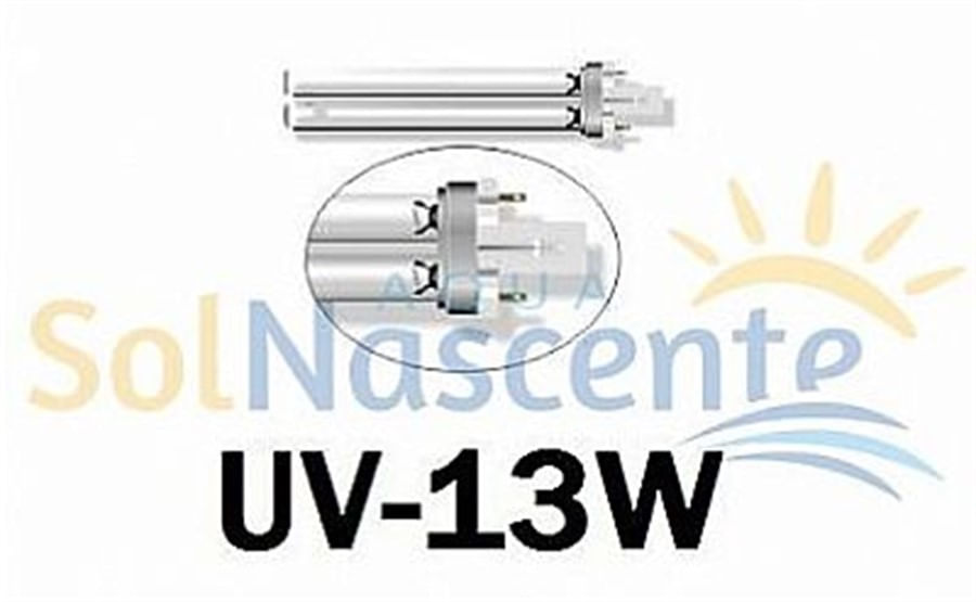 Lâmpada de Reposição p/ UV-13wts Modelo de encaixe PL - 220V