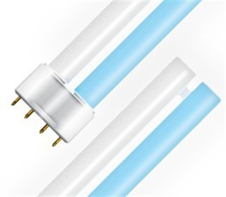 lampada pl 9w azul/branca