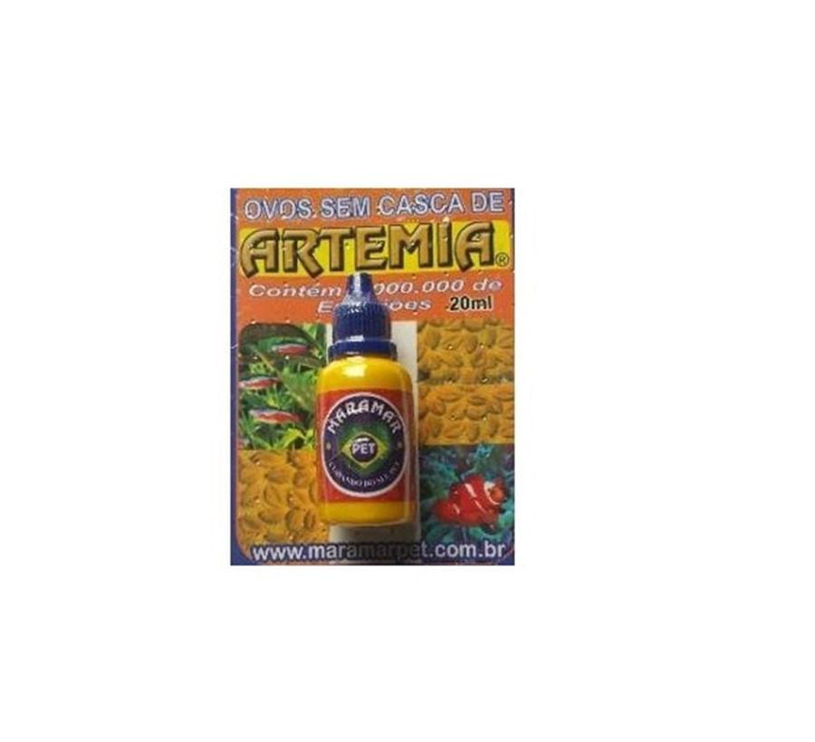 Maramar Ovos de Artemia Sem Casca 20ml