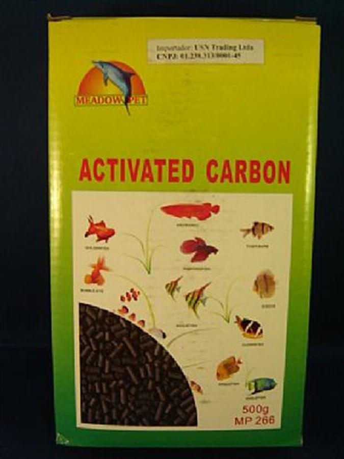 Meadow Pet Carvão Ativado Peletizado 500grs