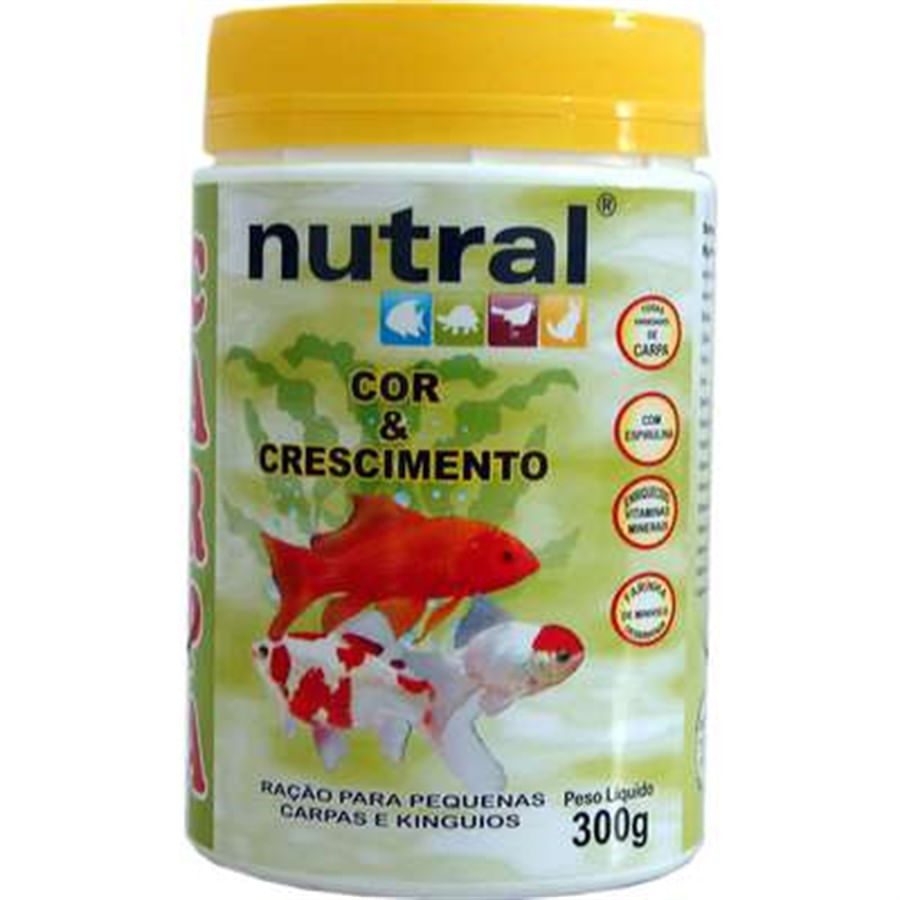 NUTRAL CARPA CRESCIMENTO E COR 300g