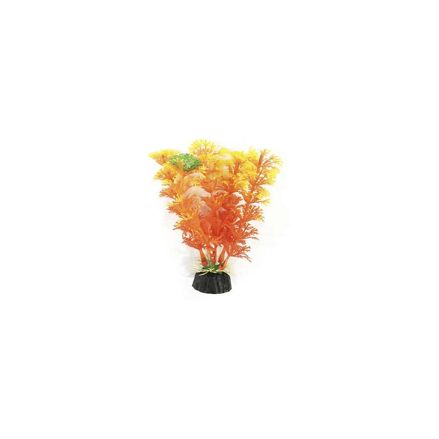 Planta Plastica Soma Laranja 10cm