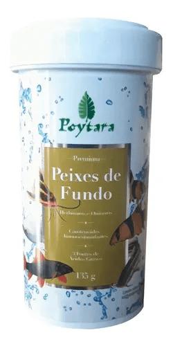 Poytara Peixes De Fundo 135g