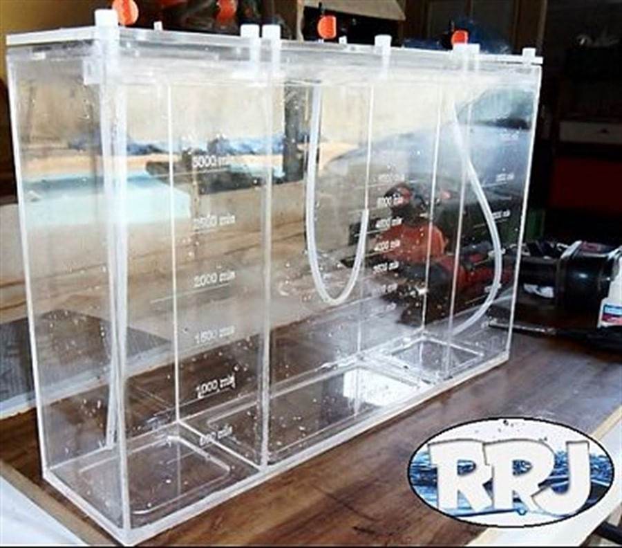 RRJ - Caixa 3 Seções - Reservatório para 13,5 litros
