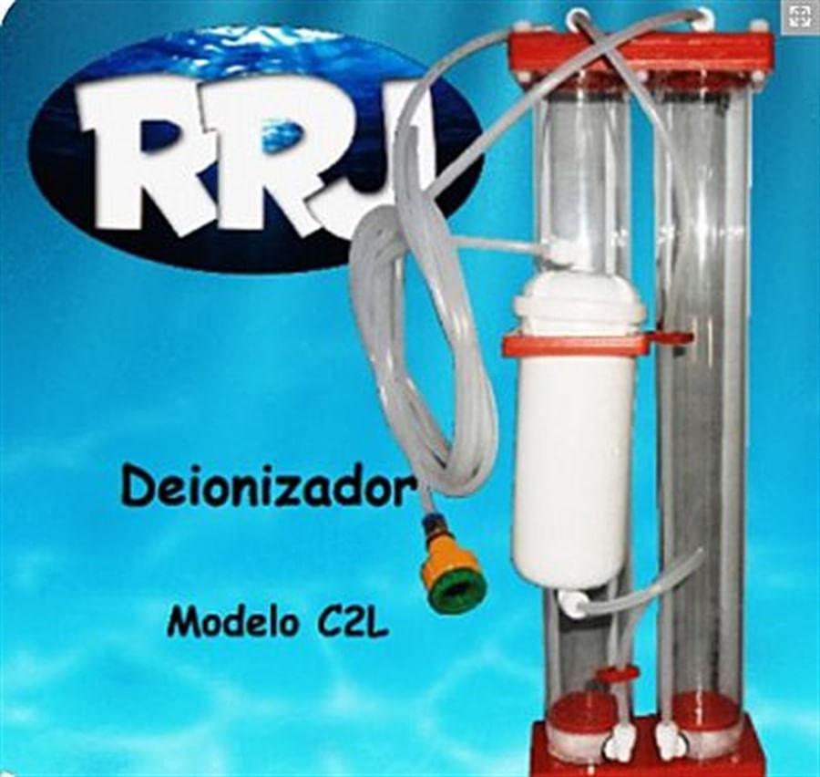 RRJ Deionizador C2L 1000 litros de água filtrada