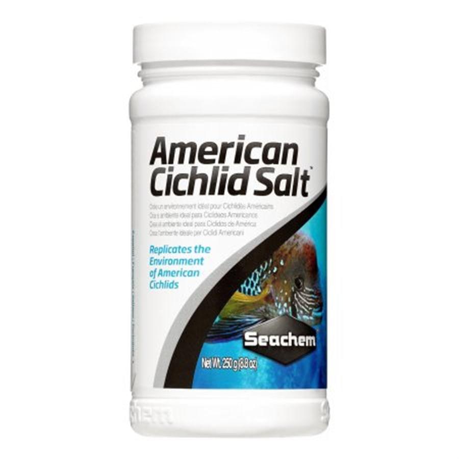 Seachem American Cichlid Salt 250grs (trata de 12.000 à 24.000 litros)