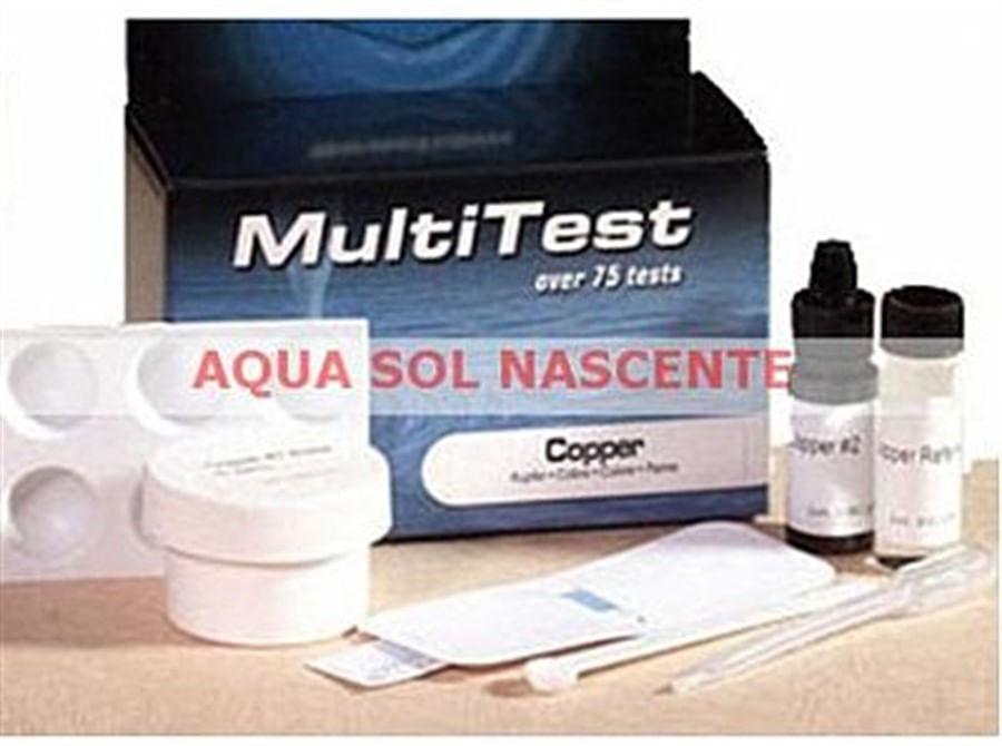 Seachem Multi Test Copper 75 testes para Água doce e Salgada(Teste de Cobre)