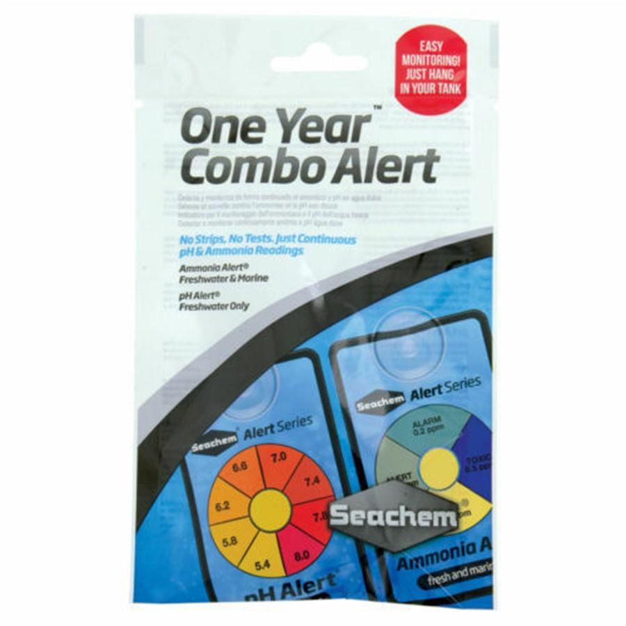 Seachem One Year Alert Combo Pack