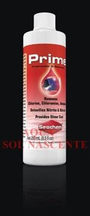 Seachem Prime 250ml (trata 10.000 litros) - Código 03.14.066