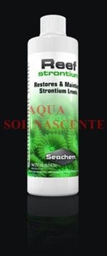 Seachem Reef Strontium 100ml (trata 1.600 litros aproximadamente)