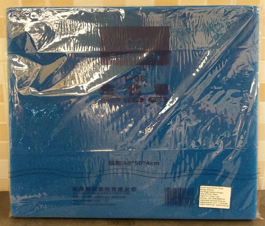 Sun sun Esponja Azul T-08 50cm x 50cm x 4cm