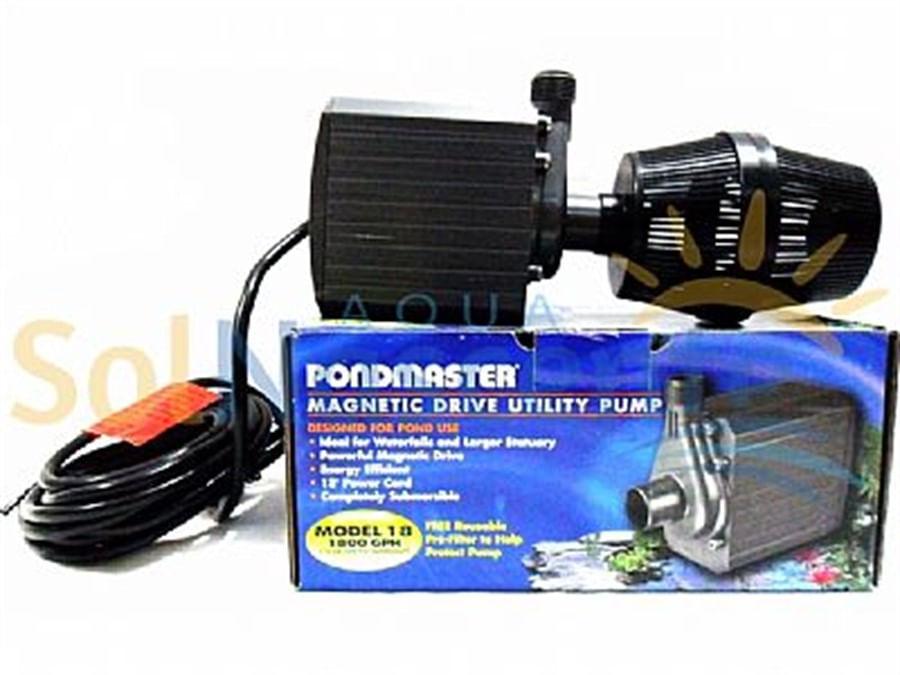 Supreme Mag Drive 1800 gph 6800 l/h - 110V