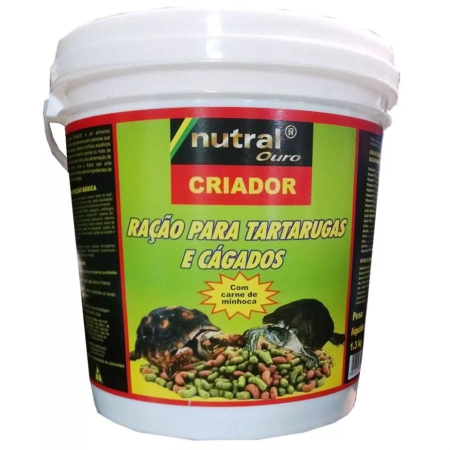Tartaruga criador balde de 1,3kg