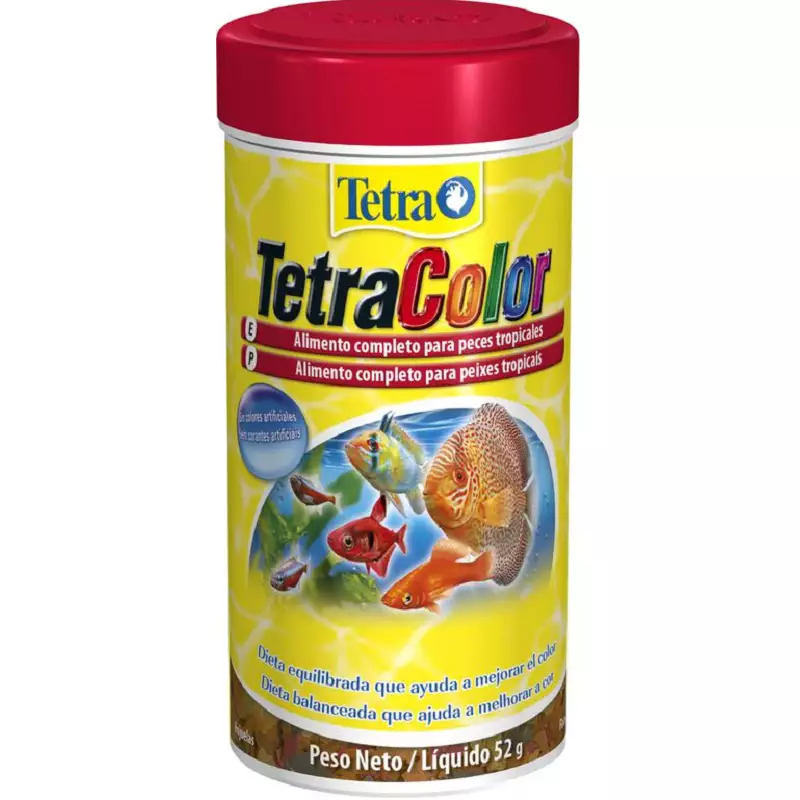 Tetra color flakes 250ml 52g