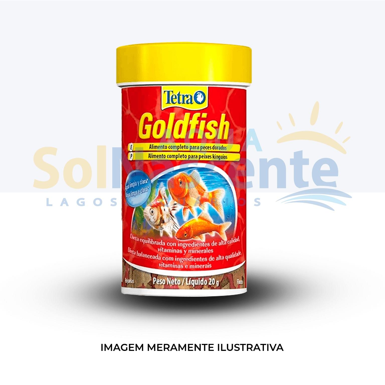Tetra Goldfish Flakes 20g ( SUPER PROMOÇÃO - Validade Próxima )
