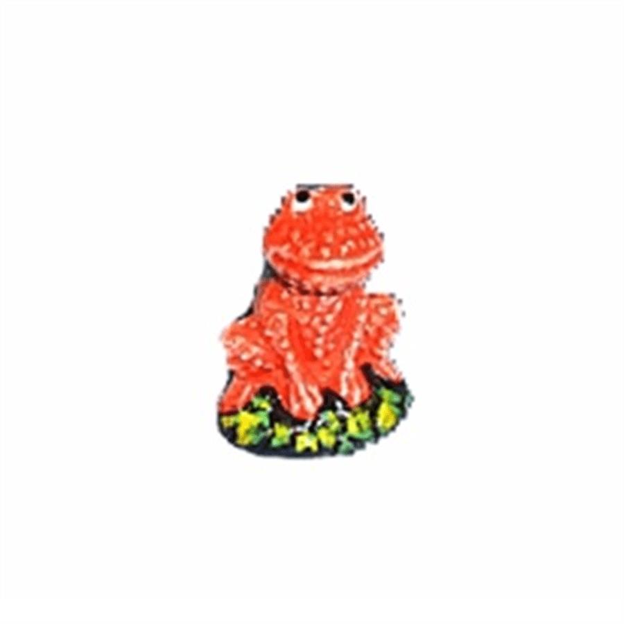 Trema Enfeite de cerâmica Sapo mini decorado (T-62D)