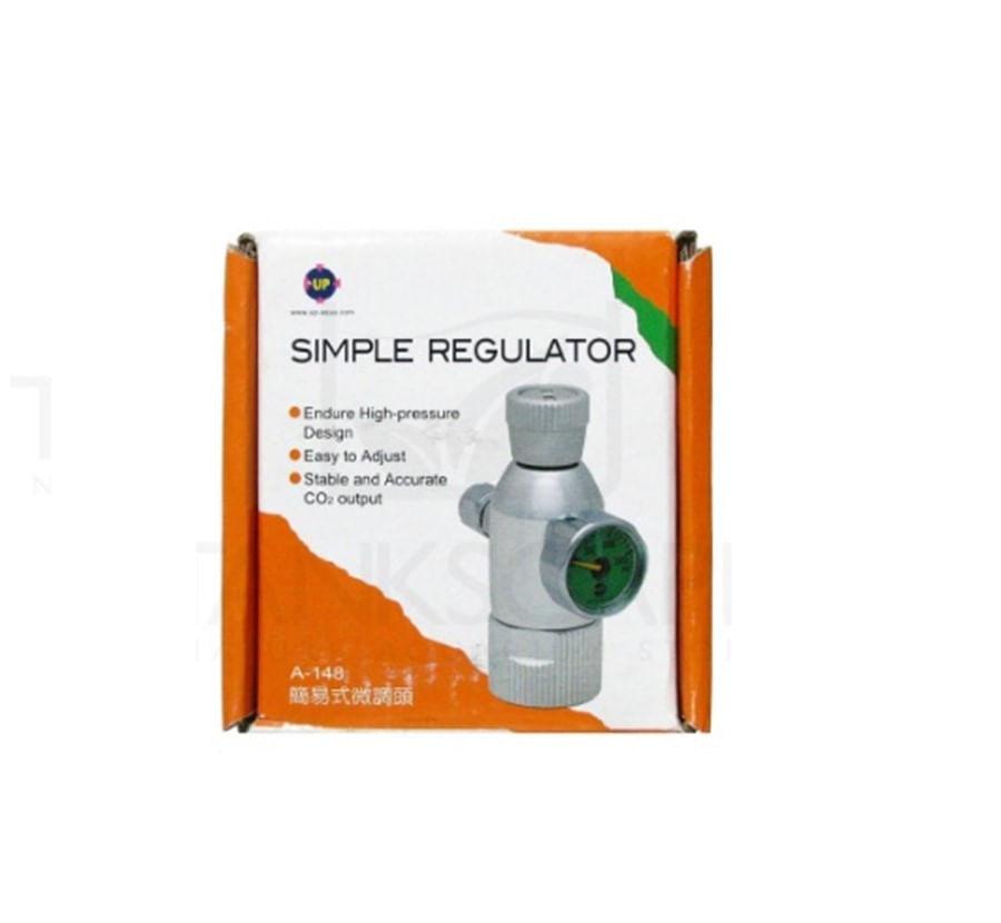 UP Regulador de CO2 c/Manometro (A-148)