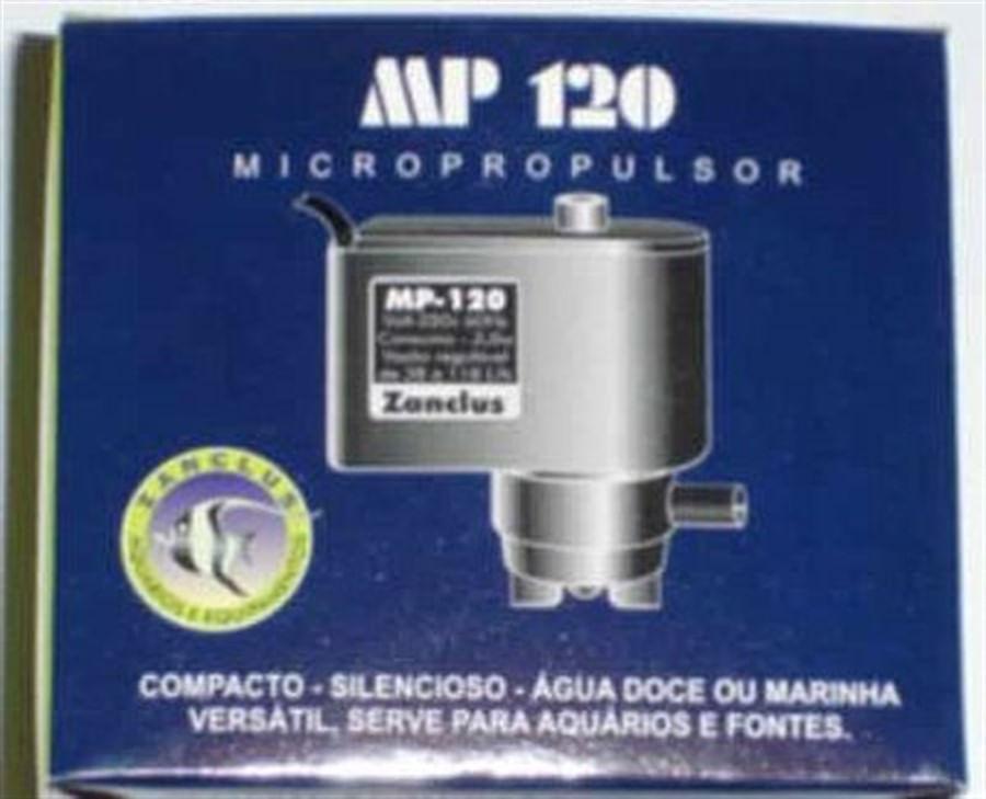 Zanclus Bomba Submersa MP-120 Micropropulsor 118 l/h 3w
