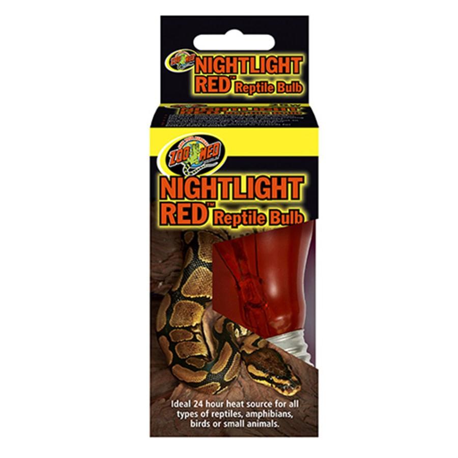 Zoomed nightlight Red Reptile Bulb nr-60