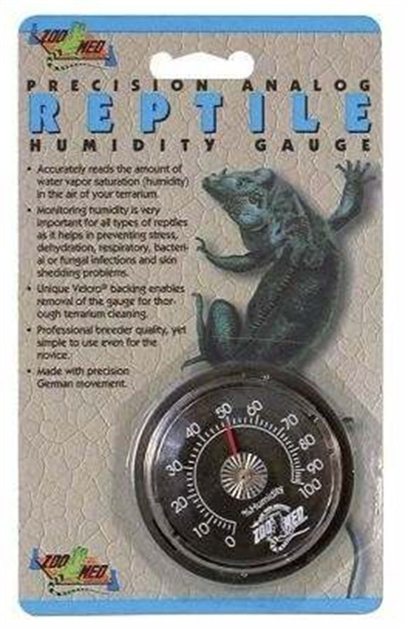 Zoomed Precision Analog Reptile Thermometer th-20
