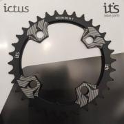 Coroa Ictus BCD 94/96 34 T Preta