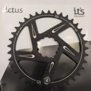 Coroa Ictus Direct BOOSTER Offset 3MM 36 T Preta