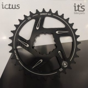 Coroa Ictus Direct GXP Offset 6MM 32 T Preta