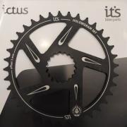 Coroa Ictus  HOLLOWGRAM Offset 3MM 36 T Preta